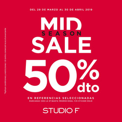 Ofertas de Studio F  en el catálogo de Bogotá