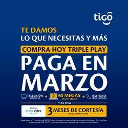Ofertas de Informática y electrónica en el catálogo de Tigo en Bogotá ( 12 días más )