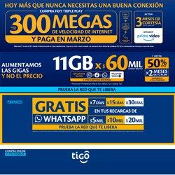 Ofertas de Alcatel en Tigo