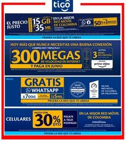 Ofertas de Informática y electrónica en el catálogo de Tigo en Santa Marta ( 9 días más )