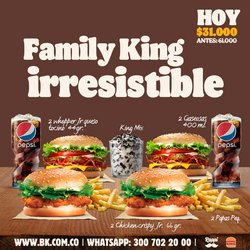 Ofertas de Papas en Burger King