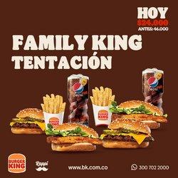 Catálogo Burger King ( 3 días publicado )