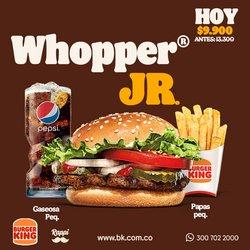 Ofertas de Restaurantes en el catálogo de Burger King ( Caduca hoy )