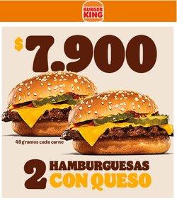 Ofertas de Restaurantes en el catálogo de Burger King ( Publicado ayer)