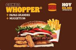 Ofertas de Restaurantes en el catálogo de Burger King ( 2 días más)