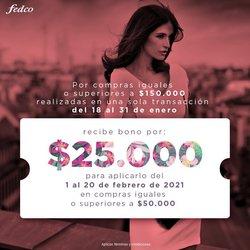 Ofertas de Perfumerías y belleza en el catálogo de Fedco en Cartago ( 6 días más )