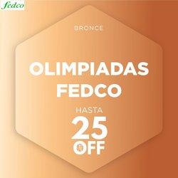 Ofertas de Perfumerías y belleza en el catálogo de Fedco ( Publicado ayer)