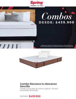 Ofertas de Hogar y muebles en el catálogo de Colchones Spring en Barranquilla ( 3 días más )