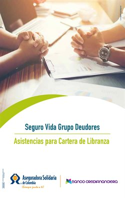 Ofertas de Bancos y seguros en el catálogo de Credifinanciera en Puerto Colombia Atlantico ( 2 días más )