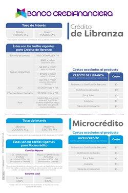 Ofertas de Bancos y seguros en el catálogo de Credifinanciera en Soledad ( Publicado hoy )