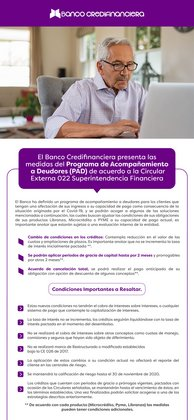 Ofertas de Banco en Credifinanciera