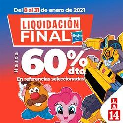 Ofertas de Supermercados en el catálogo de La 14 en Cartago ( 2 días publicado )