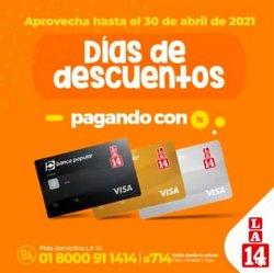Ofertas de Supermercados en el catálogo de La 14 en Madrid ( Publicado hoy )