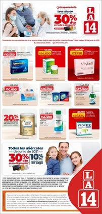 Ofertas de Supermercados en el catálogo de La 14 ( 8 días más)