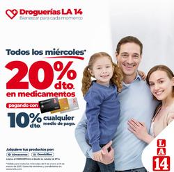 Cupón La 14 en Bogotá ( Más de un mes )