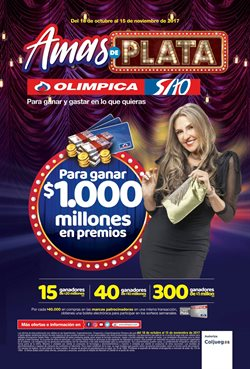 Ofertas de Super Almacenes Olímpica  en el catálogo de Bogotá