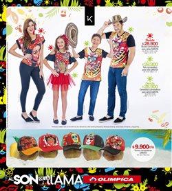 Ofertas de Camiseta  en el catálogo de Super Almacenes Olímpica en Bogotá