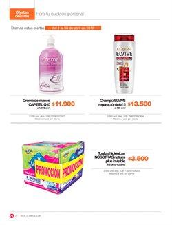 Ofertas de Shampoo  en el catálogo de Super Almacenes Olímpica en Corozal