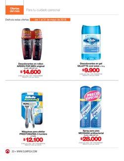 Ofertas de Gillette  en el catálogo de Super Almacenes Olímpica en Bogotá