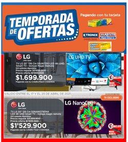 Ofertas de Bancos y seguros en el catálogo de Crédito Fácil Codensa en Bogotá ( 2 días más )
