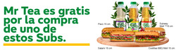 Ofertas de Subway  en el catálogo de Pasto