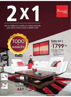 Ofertas de Hogar y muebles en el catálogo de Brunati en Envigado ( 3 días más )