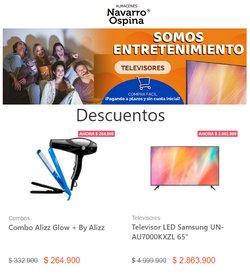 Ofertas de Almacenes Navarro Ospina en el catálogo de Almacenes Navarro Ospina ( 7 días más)