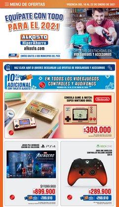 Ofertas de Juegos en Alkosto
