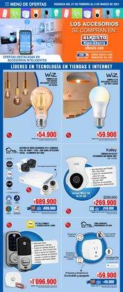 Ofertas de Iluminación en Alkosto