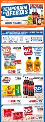 Catálogo Alkosto en Bogotá ( Publicado ayer )