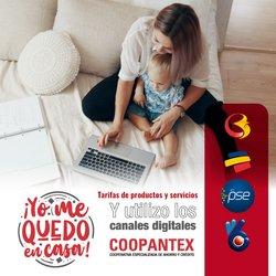 Ofertas de Bancos y seguros en el catálogo de Coopantex en Bello ( Más de un mes )