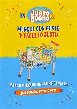 Ofertas de Supermercados en el catálogo de Justo & Bueno en Santo Tomás ( 16 días más )