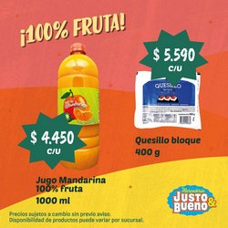 Ofertas de Supermercados en el catálogo de Justo & Bueno ( 8 días más )
