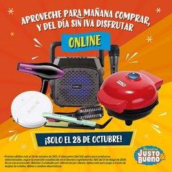 Ofertas de Supermercados en el catálogo de Justo & Bueno ( Vence hoy)