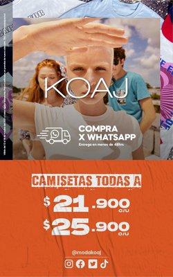 Ofertas de Ropa y Zapatos en el catálogo de Koaj ( 3 días más)
