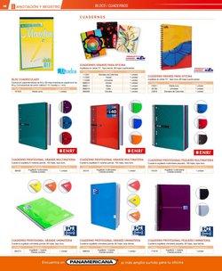 Ofertas de Cuadernos en Panamericana