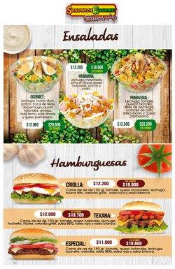 Ofertas de Restaurantes en el catálogo de Sandwich Gourmet ( Más de un mes)