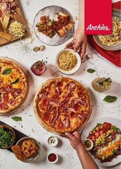 Ofertas de Restaurantes en el catálogo de Archie's Pizza ( Más de un mes)