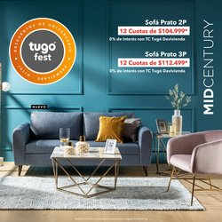 Ofertas de Hogar y muebles en el catálogo de Tugó ( 2 días más)