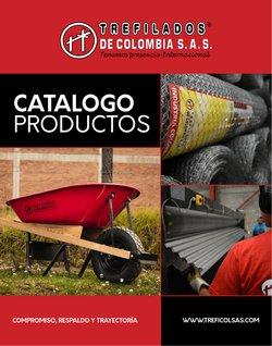 Ofertas de Trefilados de Colombia en el catálogo de Trefilados de Colombia ( Más de un mes)