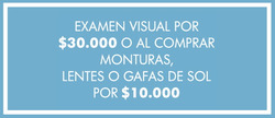 Cupón Ópticas GMO en Ibagué ( Publicado ayer )