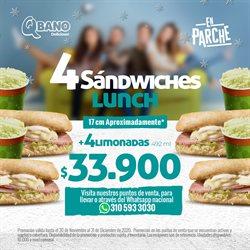 Catálogo Sandwich Qbano ( Caducado )
