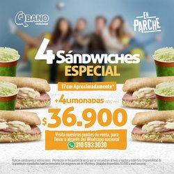 Catálogo Sandwich Qbano ( 2 días más )