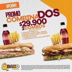 Ofertas de Restaurantes en el catálogo de Sandwich Qbano en Cali ( 7 días más )