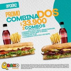 Catálogo Sandwich Qbano ( Caduca hoy )