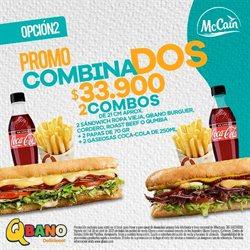 Ofertas de Restaurantes en el catálogo de Sandwich Qbano en Medellín ( 8 días más )