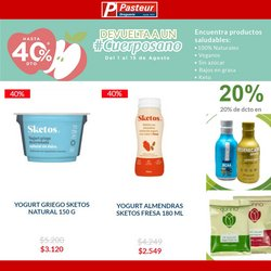 Ofertas de Farmacia, droguería y óptica en el catálogo de Farmacias Pasteur ( 10 días más)