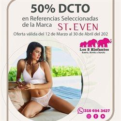 Ofertas de Tiendas departamentales en el catálogo de Los Tres Elefantes ( 10 días más )