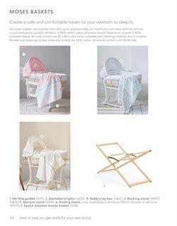 Ofertas de Cunas  en el catálogo de Mothercare en Sabaneta