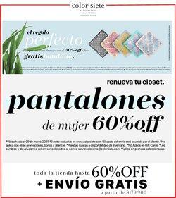 Ofertas de Ropa, zapatos y complementos en el catálogo de Color Siete ( Publicado hoy )